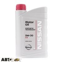 Моторное масло Nissan Motor Oil DPF 5W-30 KE90090033 1л