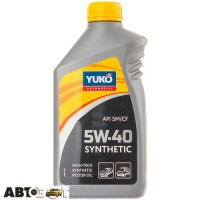 Моторное масло Yuko SYNTHETIC 5W-40 1л