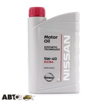 Моторное масло Nissan Motor Oil 5W-40 KE90090032 1л