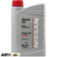 Моторное масло Nissan Motor Oil 10W-40 KE90099932 1л