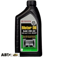 Моторное масло Toyota Synthetic Motor Oil 0W-20 002790WQTE 0.946л