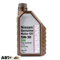 Моторное масло Nissan Genuine Oil 5W-30 KLAL605301 1л