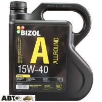 Моторное масло BIZOL Allround 15W-40 B82016 4л