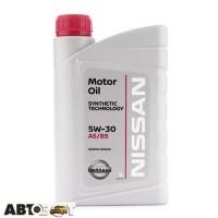 Моторное масло Nissan Motor Oil 5W-30 KE90099933 1л