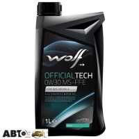 Моторное масло WOLF OFFICIALTECH 0W-30 MS-FFE 1л