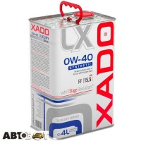 Моторное масло XADO Luxury Drive 0W-40 XA 20272 4л