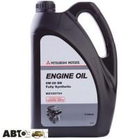 Моторное масло Mitsubishi Engine Oil 0W-20 MZ320724 4л