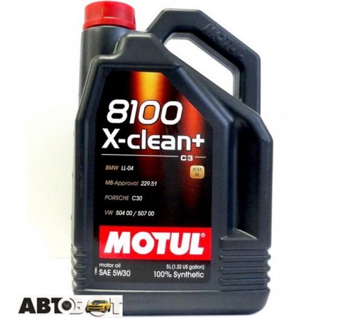Моторное масло MOTUL 8100 X-clean+ 5W-30 854751 5л, цена: 1 350 грн.