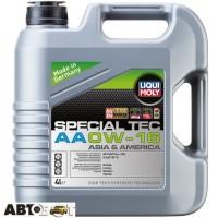 Моторное масло LIQUI MOLY SPECIAL TEC AA 0W-16 21327 4л