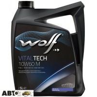 Моторное масло WOLF VITALTECH 10W-60 M 5л