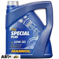 Моторное масло MANNOL SPECIAL PLUS 10W-30 7512 4л