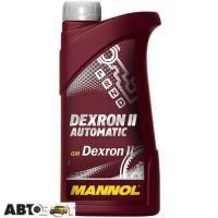 Трансмиссионное масло MANNOL АUТОMАTIC ATF DEXRON II D 0,5л