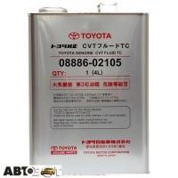 Трансмиссионное масло Toyota Genuine CVT Fluid TC 08886-02105 4л