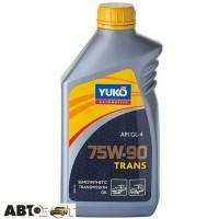 Трансмиссионное масло Yuko TRANS 75W-90 GL-4 1л