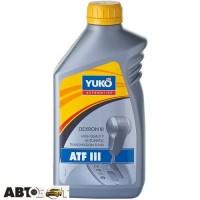 Трансмиссионное масло Yuko ATF III 1л