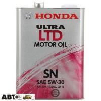 Моторное масло Honda Ultra LTD 5W-30 0821899974 4л