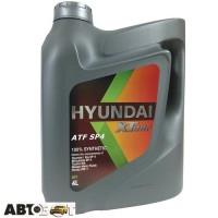 Трансмиссионное масло Hyundai XTeer ATF SP-4 4л