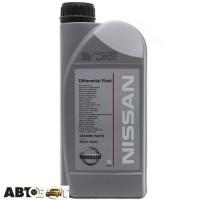 Трансмиссионное масло Nissan Differential Fluide 80W-90 KE90799932 1л
