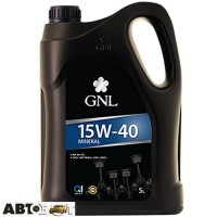 Моторное масло GNL Mineral 15W-40 5л