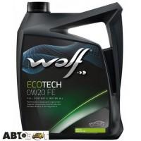Моторное масло WOLF ECOTECH 0W-20 D1 FE 5л