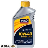 Моторное масло Yuko SUPER GAS 10W-40 1л