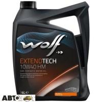 Моторное масло WOLF EXTENDTECH 10W-40 HM 4л