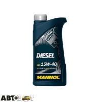 Моторное масло MANNOL DIESEL 15W-40 1л
