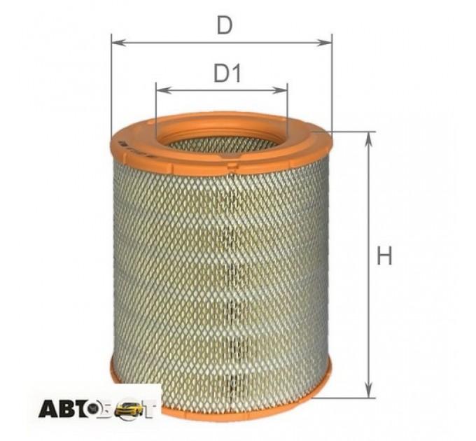 Воздушный фильтр ALPHA FILTER AF 0167, цена: 246 грн.