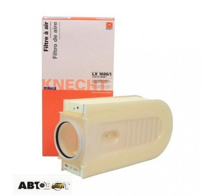 Воздушный фильтр KNECHT LX1686/1, цена: 710 грн.