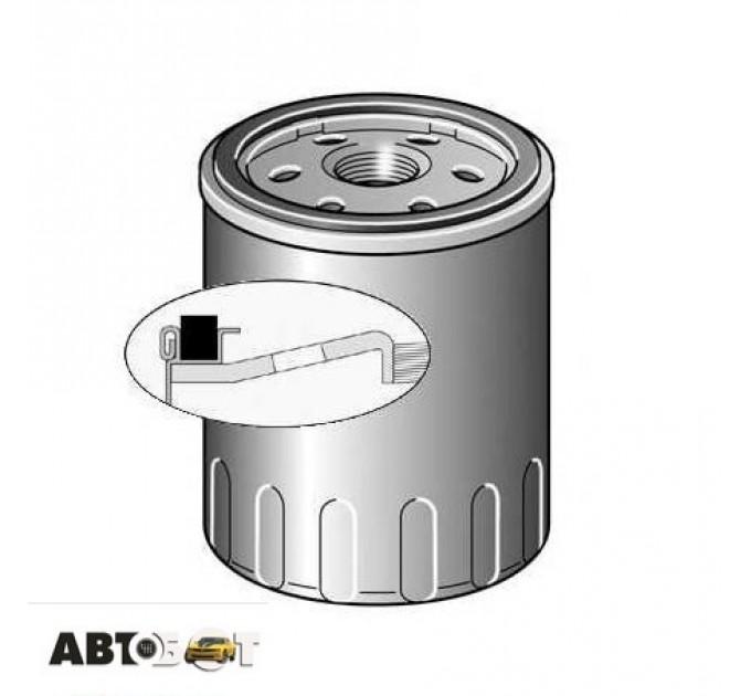 Масляный фильтр PURFLUX LS867B, цена: 140 грн.