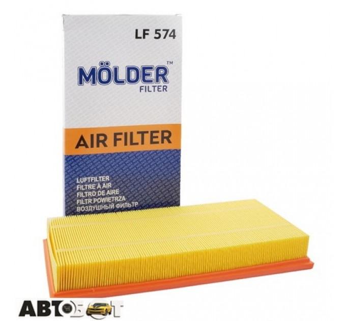 Воздушный фильтр Molder LF574, цена: 91 грн.