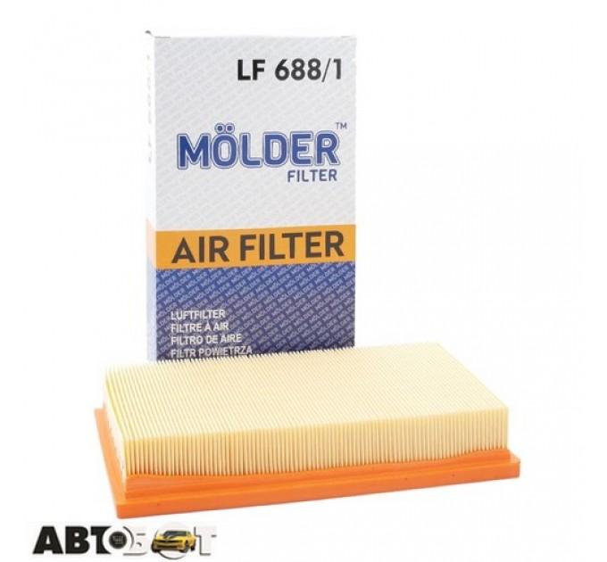Воздушный фильтр Molder LF688/1, цена: 90 грн.