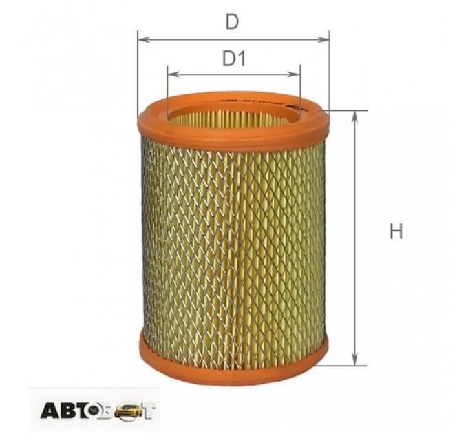 Воздушный фильтр ALPHA FILTER AF 0118, цена: 115 грн.