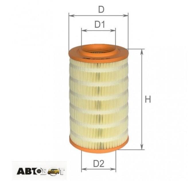 Воздушный фильтр ALPHA FILTER AF 0126, цена: 196 грн.
