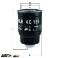 Топливный фильтр KNECHT KC 189