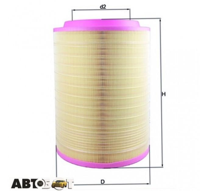 Воздушный фильтр KNECHT LX2082, цена: 1 990 грн.