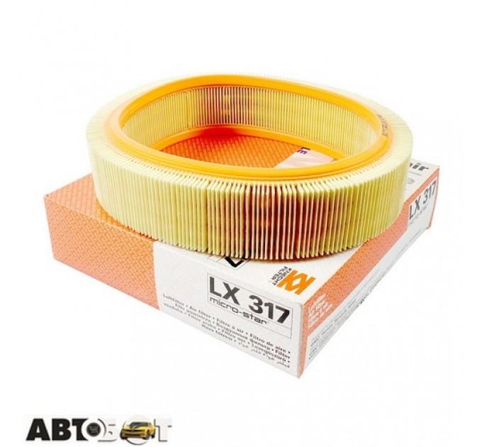 Воздушный фильтр KNECHT LX317, цена: 178 грн.