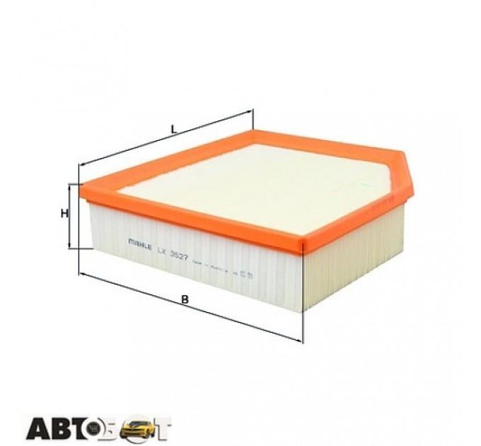 Воздушный фильтр KNECHT LX 3527, цена: 533 грн.