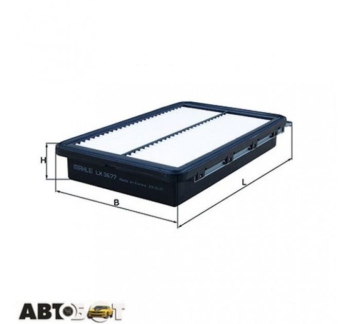Воздушный фильтр KNECHT LX 3677, цена: 363 грн.