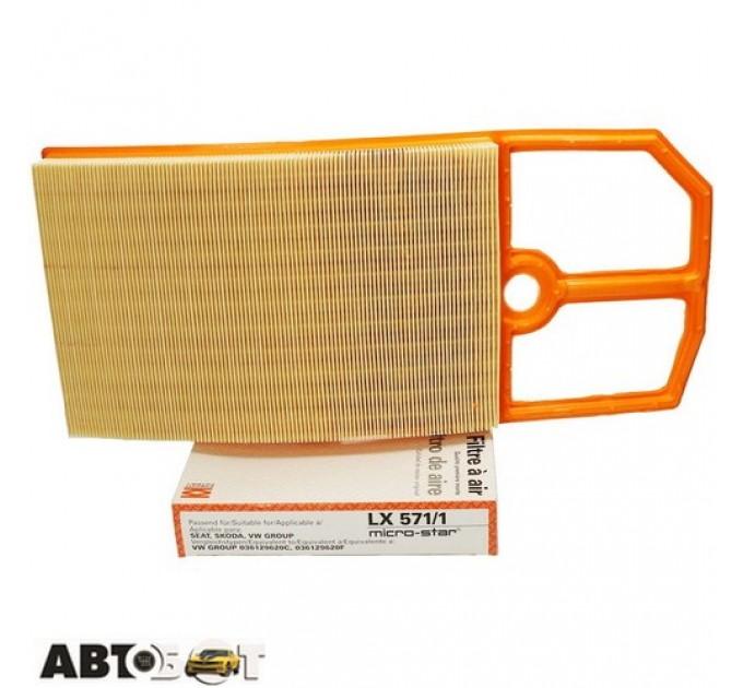 Воздушный фильтр KNECHT LX571/1, цена: 366 грн.