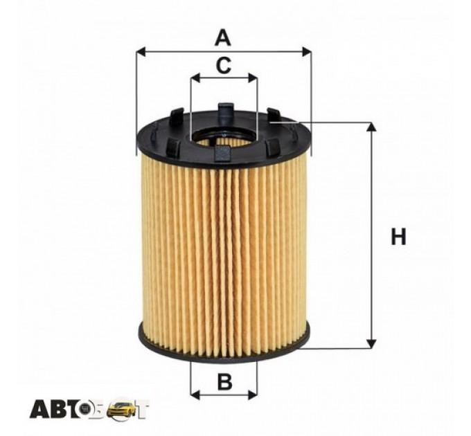 Масляный фильтр WIX WL7543, цена: 161 грн.