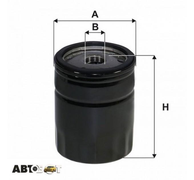 Масляный фильтр WIX WL7551, цена: 144 грн.