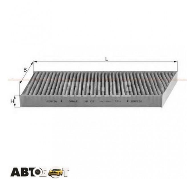 Воздушный фильтр MAHLE LAK129, цена: 579 грн.