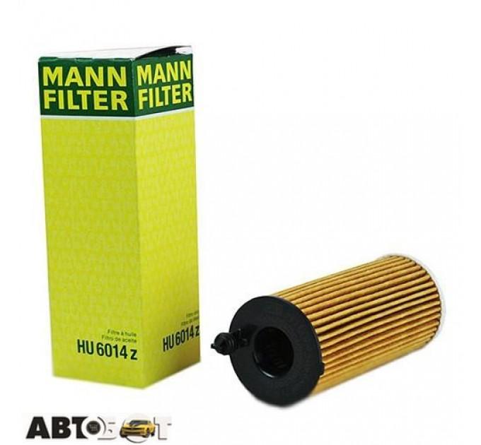 Масляный фильтр MANN HU 6014 z, цена: 443 грн.