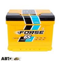 Автомобильный аккумулятор FORSE (Westa) 6СТ-65 АзЕ 640А
