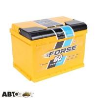Автомобильный аккумулятор FORSE (Westa) 6СТ-60 АзЕ 600А