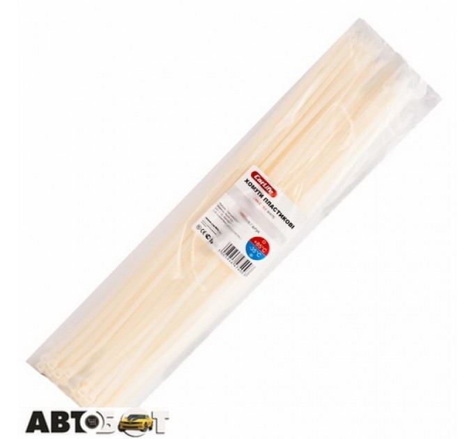 Стяжка CarLife W4.8x450 (100шт.), цена: 124 грн.