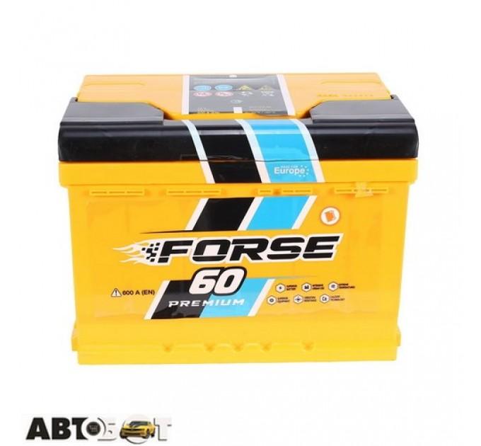 Автомобильный аккумулятор FORSE (Westa) 6СТ-60 АзЕ 600А, цена: 1 714 грн.