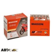 Мото аккумулятор MAXION 6СТ-9 Аз YTZ 10S (GEL)