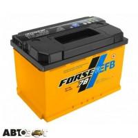 Автомобильный аккумулятор FORSE (Westa) 6СТ-78 АзЕ EFB